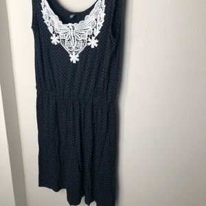 Pimkie Scoop-Neck Dress with Crochet Detail